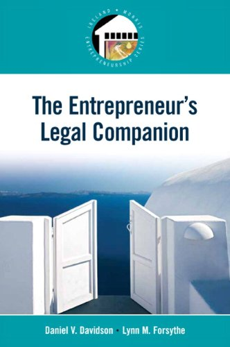 Entrepreneur's Legal Companion   2011 edition cover