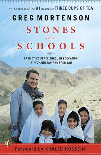 Stones into Schools Promoting Peace with Education in Afghanistan and Pakistan N/A edition cover