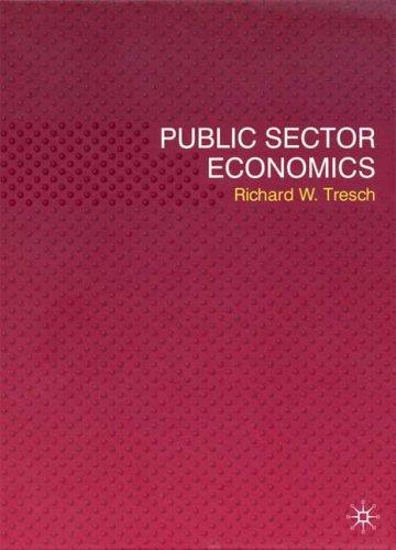 Public Sector Economics   2008 9780230522237 Front Cover