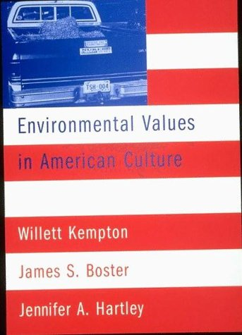 Environmental Values in American Culture   1996 edition cover