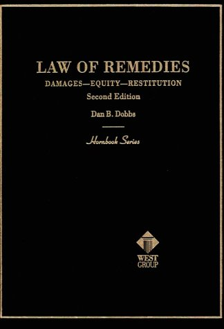 Hornbook on Remedies  2nd 1993 (Revised) edition cover