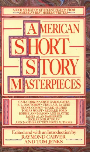 American Short Story Masterpieces  N/A edition cover
