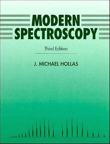 Modern Spectroscopy  3rd 1996 9780471965237 Front Cover