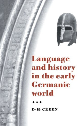 Language and History in the Early Germanic World   2000 9780521794237 Front Cover