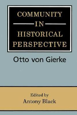 Community in Historical Perspective   2002 9780521893237 Front Cover