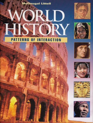 World History: Patterns of Interaction Pupil's Edition (C)2001 N/A 9780618108237 Front Cover