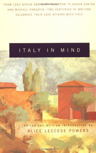 Italy in Mind An Anthology N/A 9780679770237 Front Cover