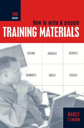 How to Write and Prepare Training Materials  2nd 2002 9780749437237 Front Cover