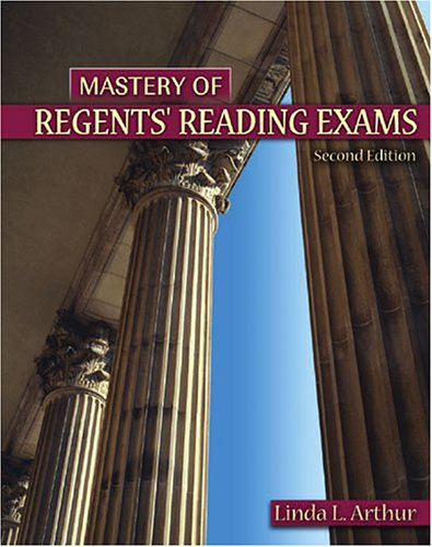 Mastery of Regents' Reading Exams  2nd 2005 (Revised) 9780757526237 Front Cover