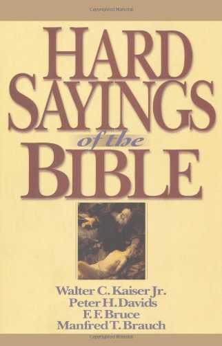 Hard Sayings of the Bible  N/A edition cover