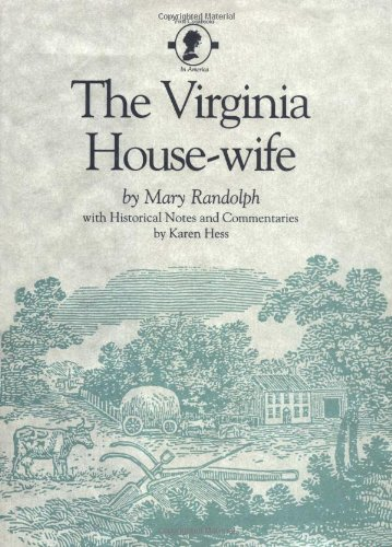 Virginia Housewife   1984 edition cover