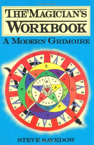 Magician's Workbook A Modern Grimoire  1996 9780877288237 Front Cover
