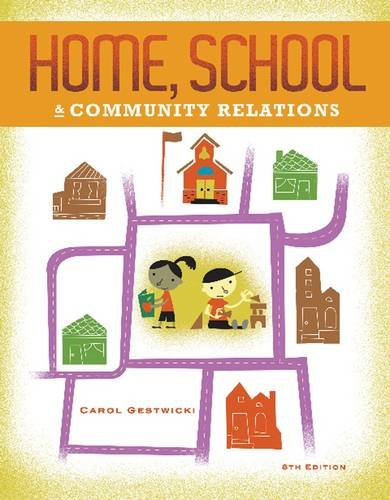 Home, School, and Community Relations  8th 2013 edition cover