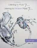 5 CD Set for Wright's Listening to Music, 7th and Listening to Western Music, 7th  7th 2014 edition cover