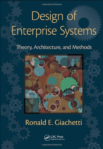 Design of Enterprise Systems Theory, Architecture, and Methods  2010 edition cover