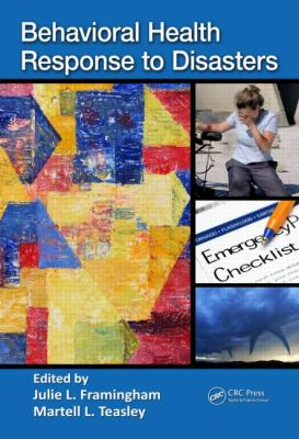 Behavioral Health Response to Disasters   2012 edition cover