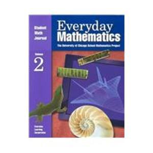 Everyday Mathematics: Student Math Journal 1st 2002 edition cover