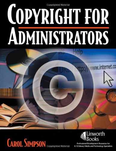 Copyright for Administrators   2008 edition cover