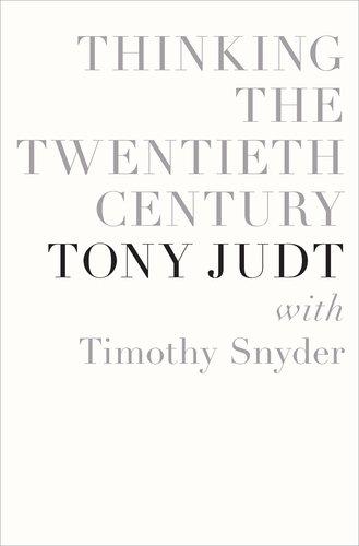 Thinking the Twentieth Century   2012 edition cover