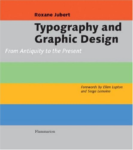 Typography and Graphic Design From Antiquity to the Present  2006 edition cover