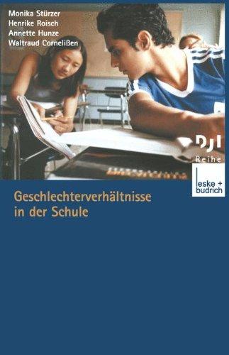 Geschlechterverhältnisse in Der Schule:   2003 edition cover