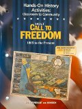 Call to Freedom 1865-Present: Hands-on History Activities 3rd 9780030657238 Front Cover