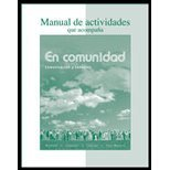 EN COMMUNIDAD ECT-WORKBOOK/LAB N/A 9780073326238 Front Cover