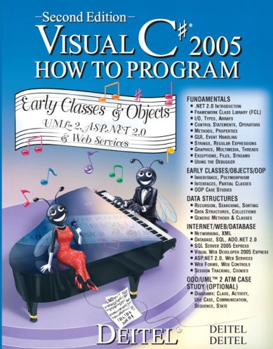 Visual C# How to Program 2nd 2006 (Revised) 9780131525238 Front Cover