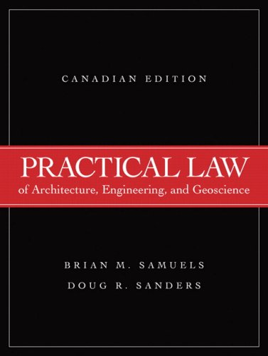 PRACTICAL LAW OF ARCH.ENGR.+GE N/A edition cover