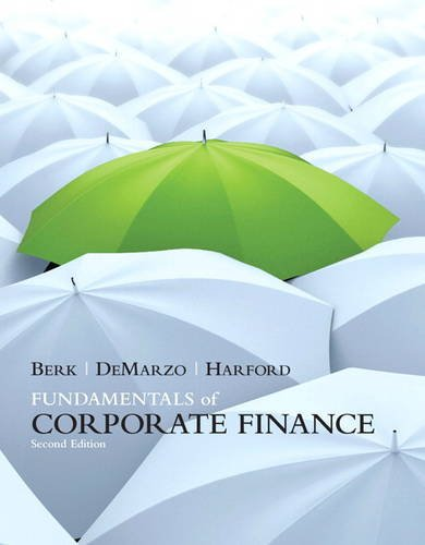 Fundamentals of Corporate Finance  2nd 2012 (Revised) edition cover
