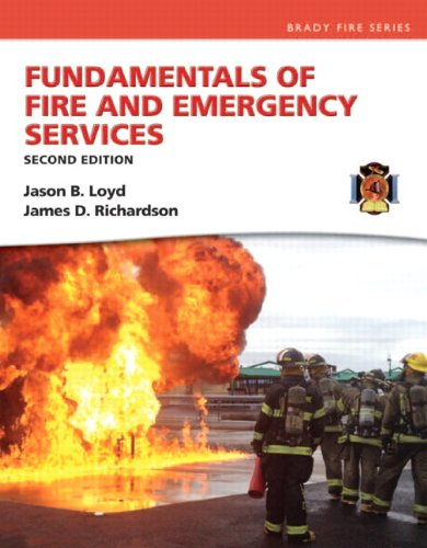Fundamentals of Fire and Emergency Services:   2013 edition cover