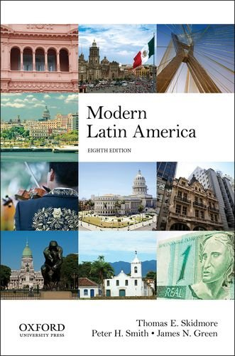Modern Latin America  8th 2014 9780199929238 Front Cover
