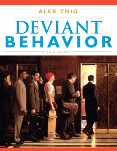 Deviant Behavior  10th 2010 edition cover