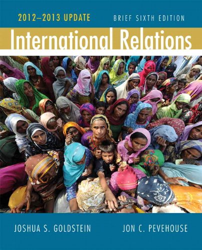 International Relations 2012-2013  6th 2013 (Revised) edition cover