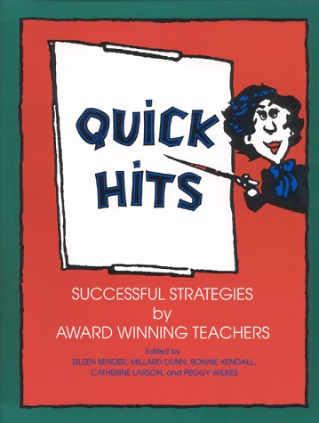 Quick Hits Successful Strategies by Award Winning Teachers  1994 9780253209238 Front Cover