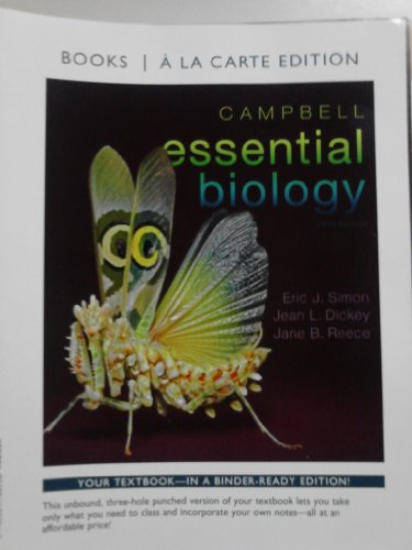 Campbell Essential Biology, Books a la Carte Edition  5th 2013 edition cover