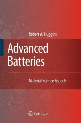 Advanced Batteries Materials Science Aspects  2009 edition cover