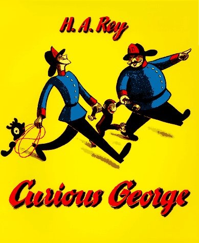 Curious George   1941 (Reprint) edition cover