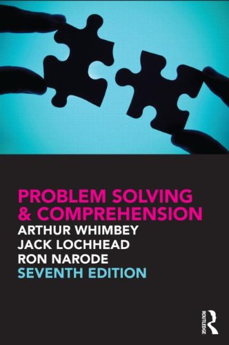 Problem Solving and Comprehension A Short Course in Analytical Reasoning 7th 2013 (Revised) edition cover