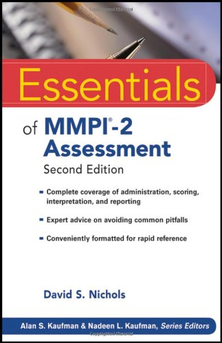 MMPI-2 Assessment  2nd 2011 edition cover
