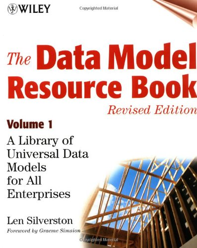 Data Model Resource Book A Library of Universal Data Models for All Enterprises 2nd 2001 (Revised) edition cover