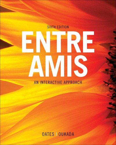 Entre Amis  6th 2013 edition cover