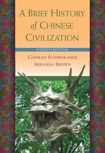 Brief History of Chinese Civilization  4th 2013 edition cover