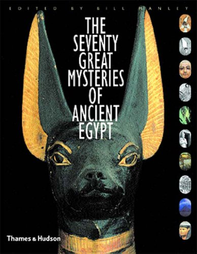Seventy Great Mysteries of Ancient Egypt   2003 edition cover