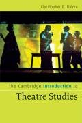 Cambridge Introduction to Theatre Studies   2008 9780521672238 Front Cover