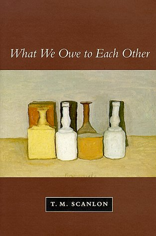 What We Owe to Each Other   1998 edition cover