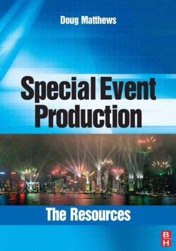 Special Event Production The Resources  2008 edition cover