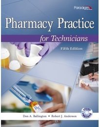 PHARMACY PRACTICE FOR TECHNICIANS-TEXT  N/A 9780763852238 Front Cover