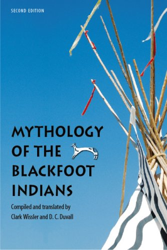 Mythology of the Blackfoot Indians  2nd 2008 edition cover
