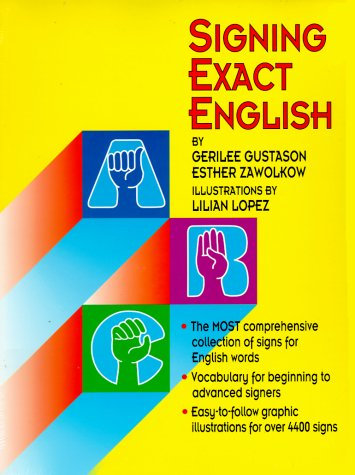 Signing Exact English 2nd edition cover